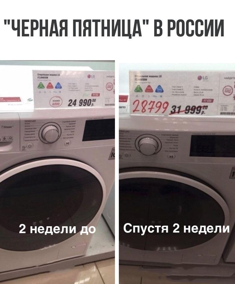 Чёрная пятница в России